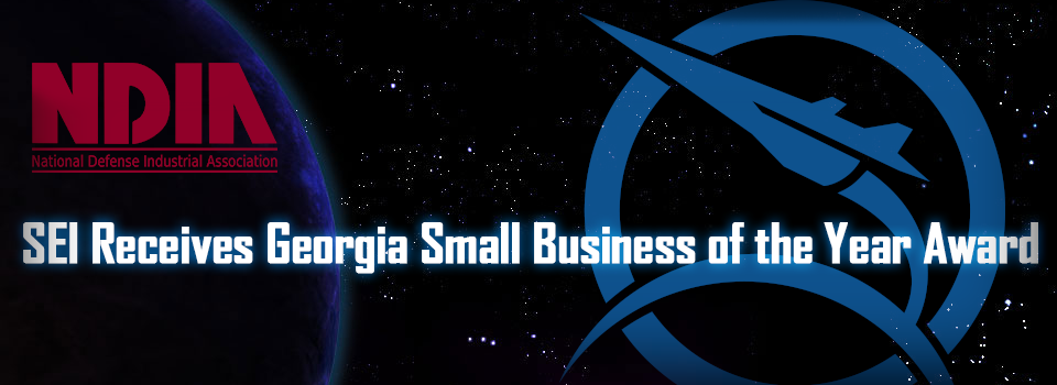SEI Receives Georgia Small business of the Year Award